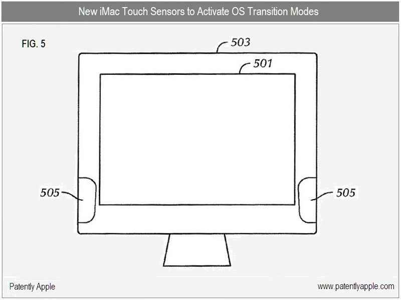 5 - iMac Touch - New Sensors to Activate OS Transition Modes