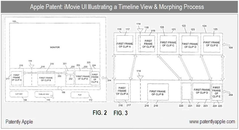 4 - imovie related - apple inc patent