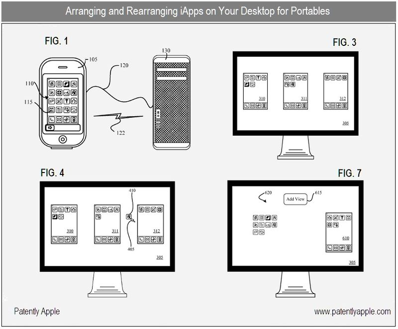 2 - arranging, rearranging iapps on your desktop - like iTunes 9 introduced