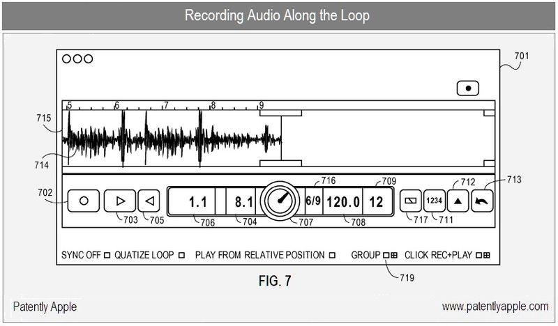 3 - apple, garageband, recording audio along the loop