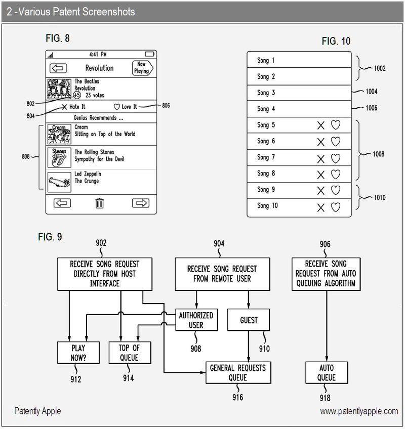 4 - patent screenshots - iTunes social