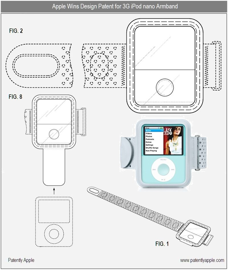 2 - Apple - Design win for 3G ipod nano armband