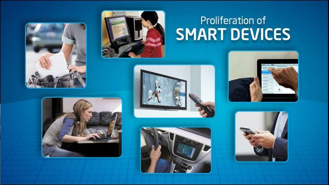# 3 - proliferation of smart devices