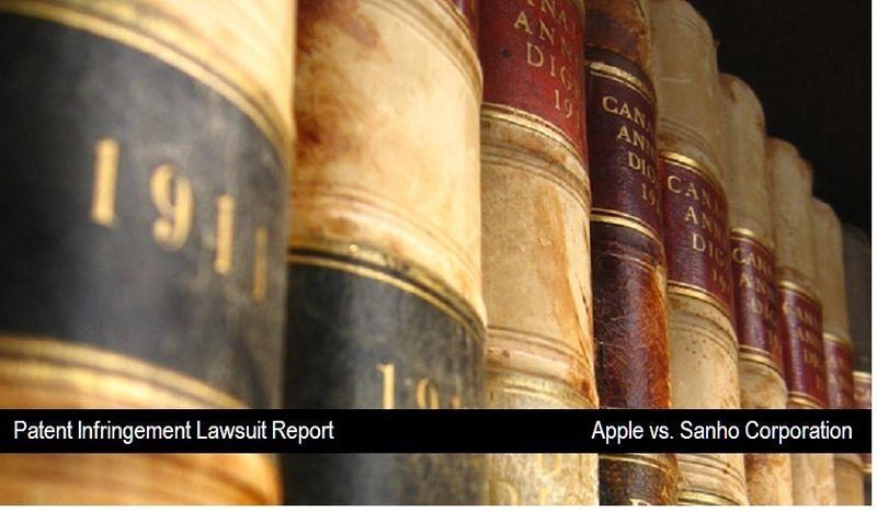 1 Cover - Apple vs Sanho Corporation - sept 10, 2010