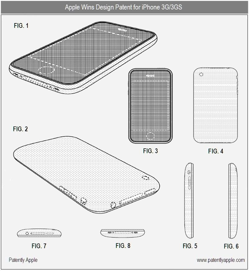 4 - iPhone 3G, 3GS - Design Patent Win