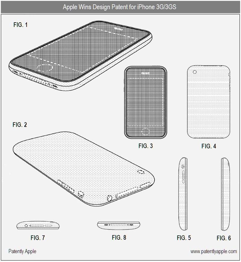 4 - iPhone 3G, 3GS - Design Patent Win