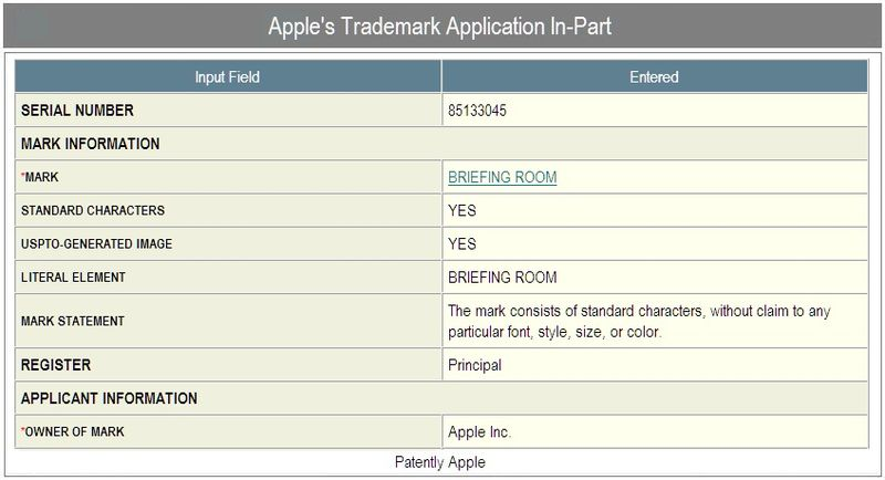2b - Briefing Room - application in part - apple inc