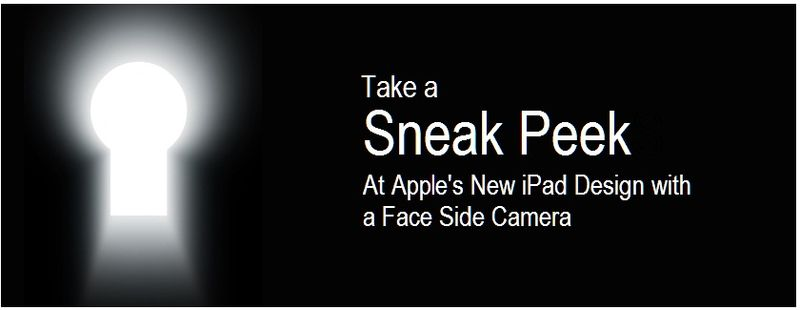 1 - Cover - Sneak Peek - ipad with facetime camera