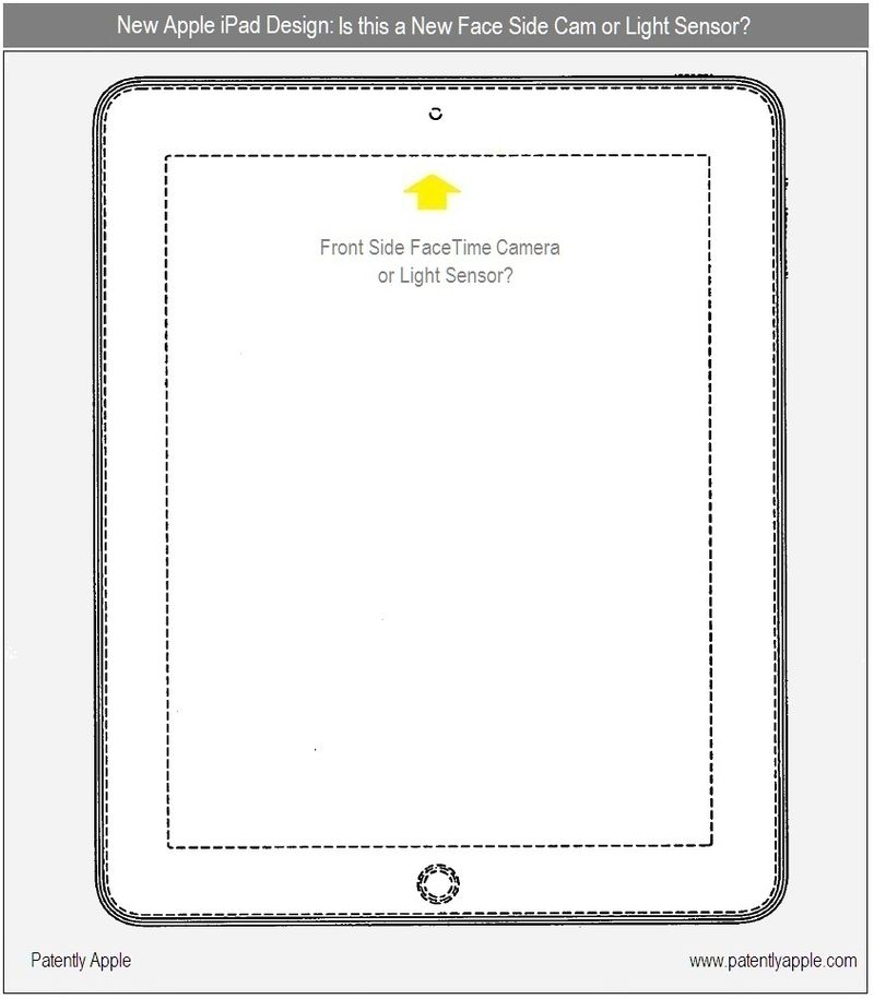 2 - iPad Face Side Cam or Light Sensor CHINA 1001055 9M003