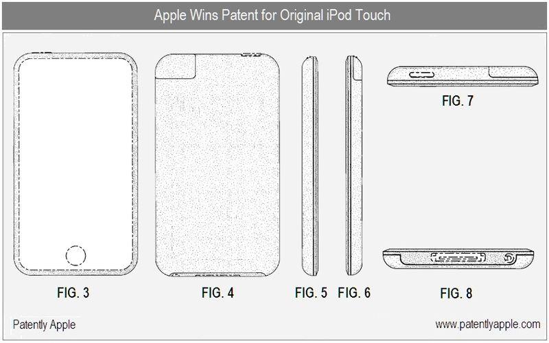 6 - Original iPod touch design patent - apple inc