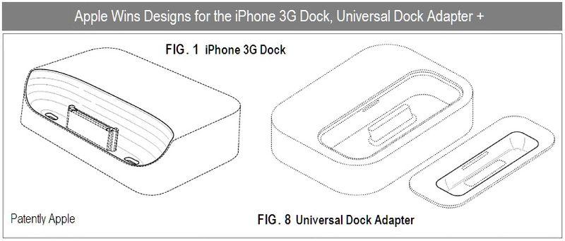 6 - Apple Inc, iPhone 3G Dock, Universal Dock Adapter, Design wins, Oct 2010