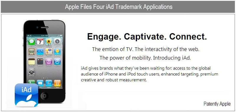 1b - Cover - iAd trademark, Apple, Oct 2010