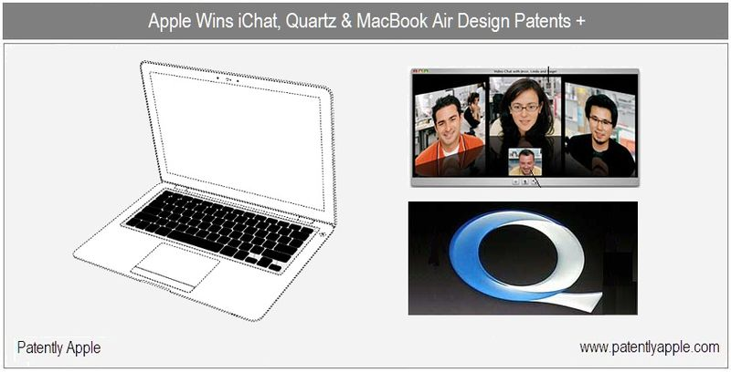 1 b - cover - apple wins macbook design, quartz, ichat + patents oct 19, 2010