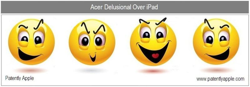 1B cover - Acer Delusional over iPad