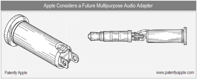 1  -  Apple Inc Patent - multipurpose audio adapter