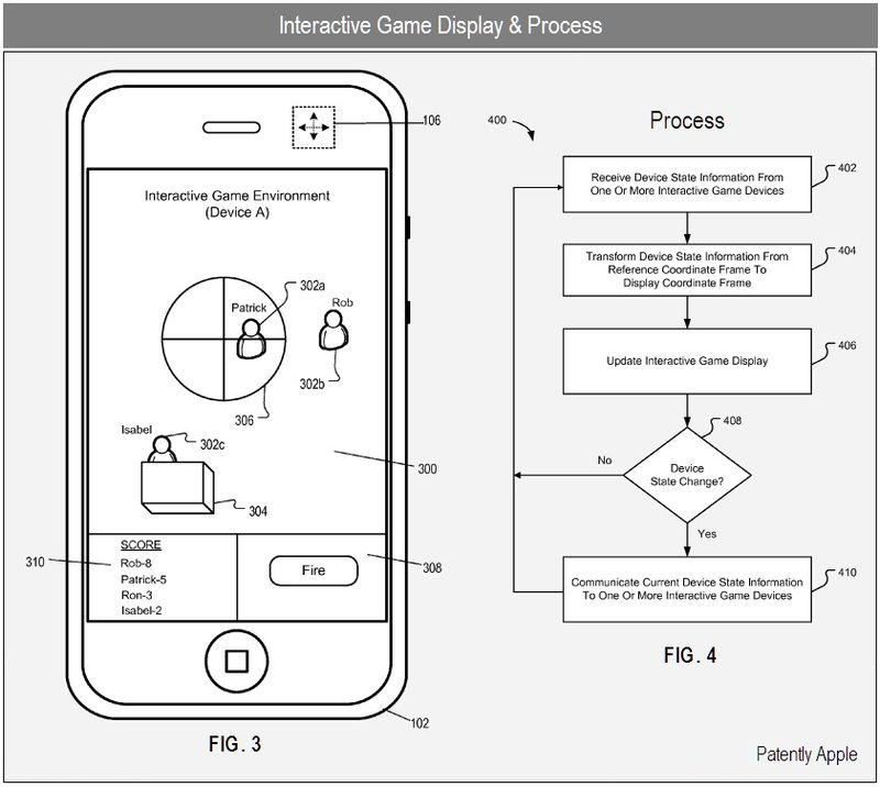 4 - Apple Inc - interactive game display & process - patent nov 2010