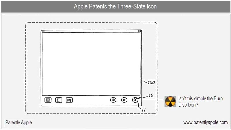 Apple patents 3-state icon - isn't this the burn disk icon