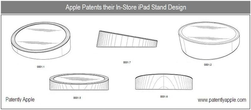 1b - Cover - Apple patents in-store iPad stand design