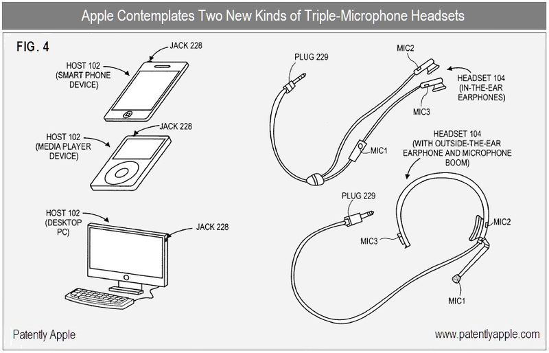 3 - apple inc patent - two triple-mic headsets