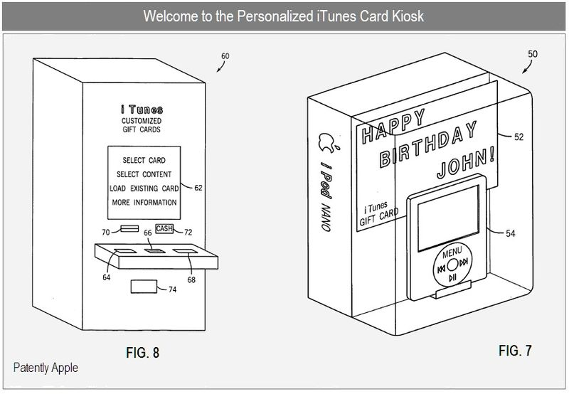 2 - PERSONALIZED ITUNES CARD KIOSK