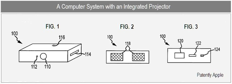 2 - Computer System with integrated projector