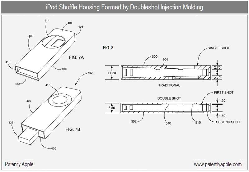 4 - ipod shuffle dble shot injection molding