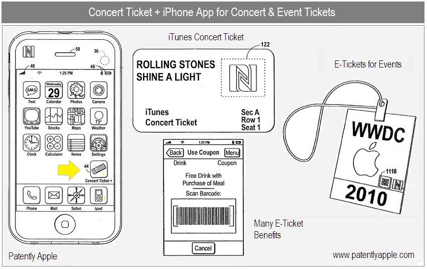 Concert Ticket Barcode 1 Cover Concert Ticket