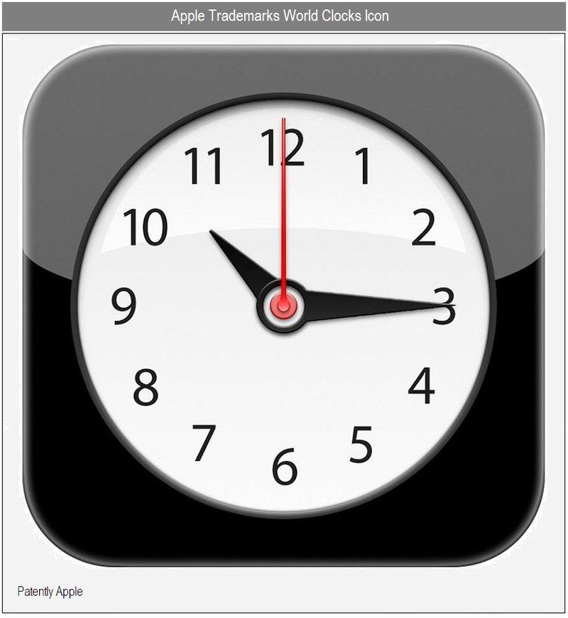3 - WORLD CLOCK - LARGE ICON DRAWING