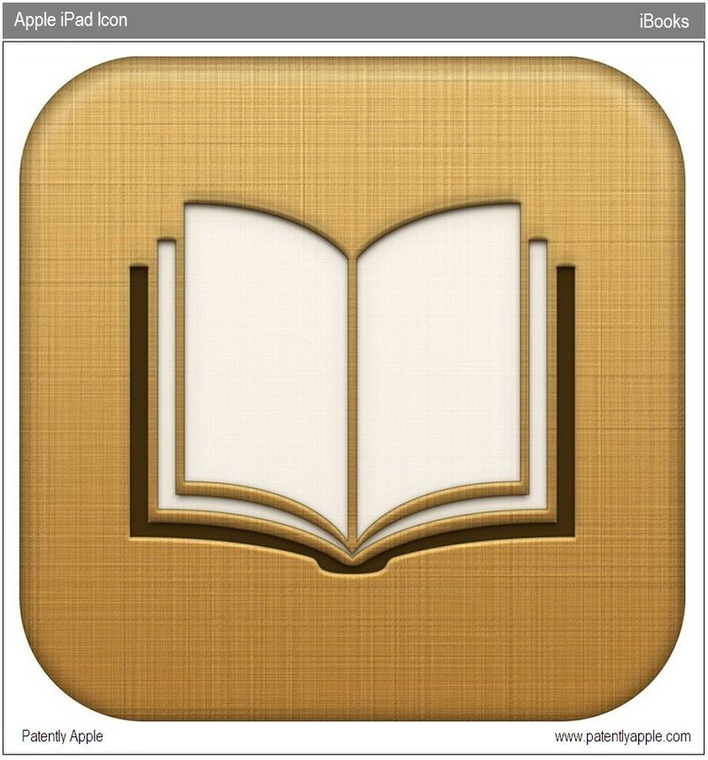 3 - The iPad's iBooks Icon