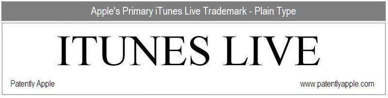 3 - ITUNES LIVE - TM EXAMPLE 1