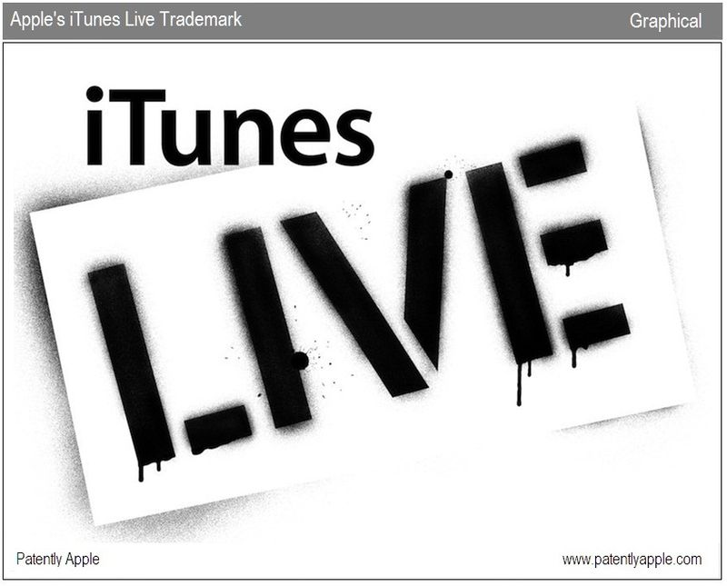 4 - FULL ITUNES LIVE TRADEMARK - GRAPHICAL REPRESENTATION