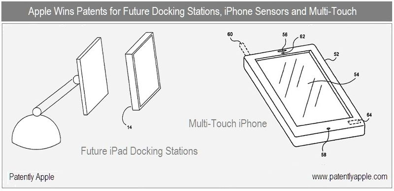 1 - Cover - iPad docking stations - iPhone multi-touch, b version