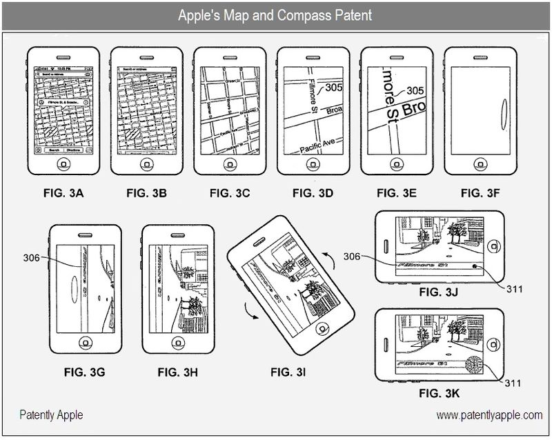 Apple's Map and Compass Patent