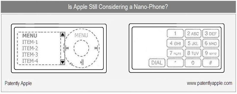 1 Cover Graphic re Apple Inc Nano Phone .... patent