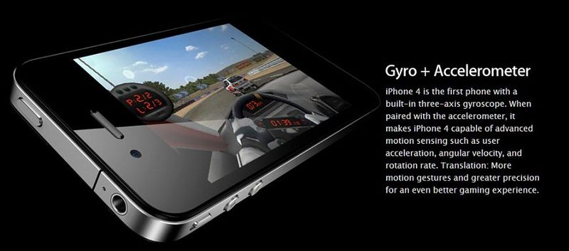 2 - Apple Inc, Gyro + Accelerometer