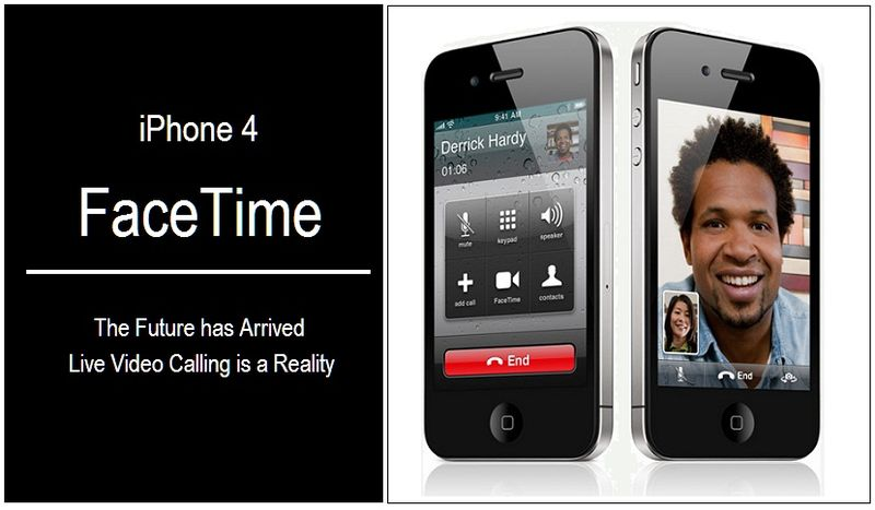 3 - FACETIME IPHONE 4