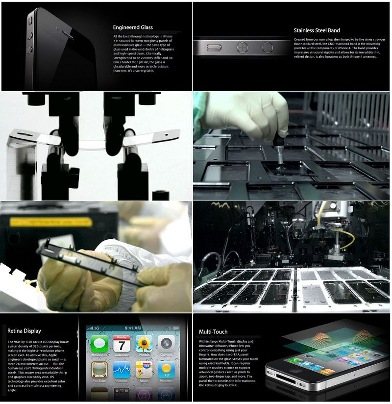 2 - COLLAGE IPHONE ASSEMBLY - IMPECCABLE PRECISION