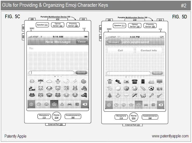4 - Apple Inc, emoji character keys 2