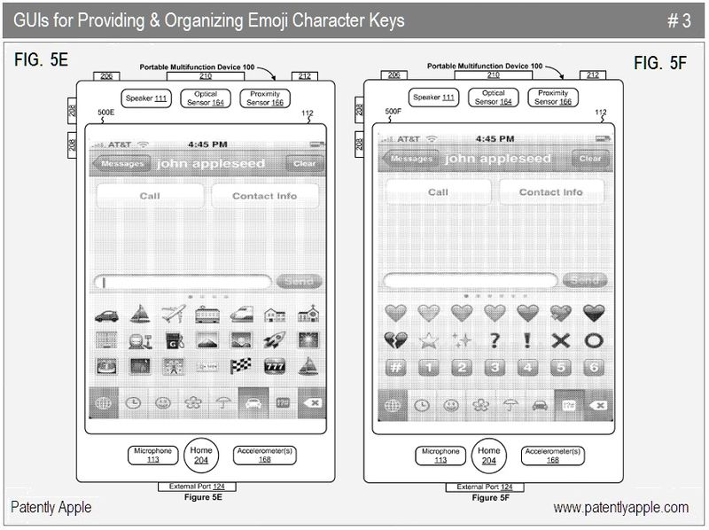 5 - Apple Inc, emoji character keys, 2010