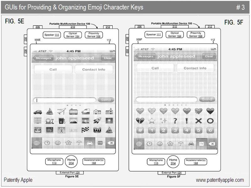 5 - Apple Inc, emoji character keys, 2010