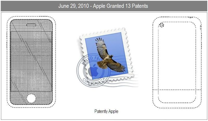 1b - Apple Inc, Cover, iphone 2, Apple Mail icon