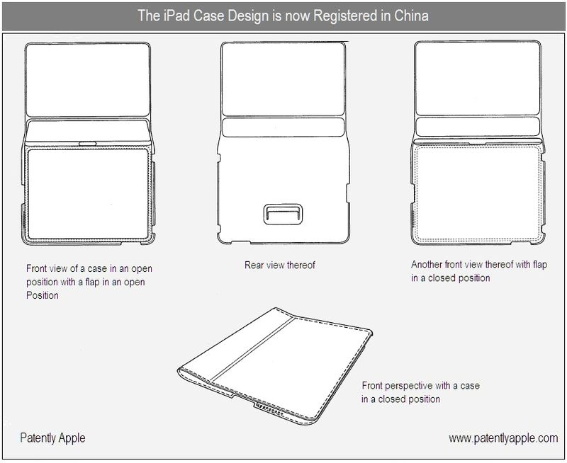 2 - iPad Case designs submitted to China, now registered