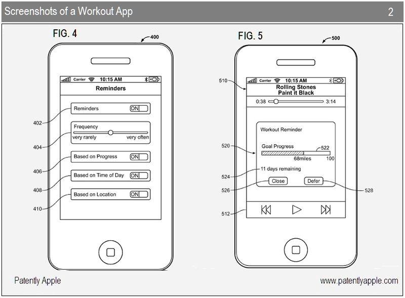 3 - Apple iPhone workout app screenshots #2