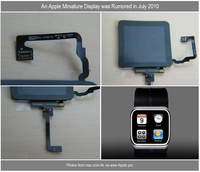 4 - iWatch - Rumor Examples from July 9, 2010