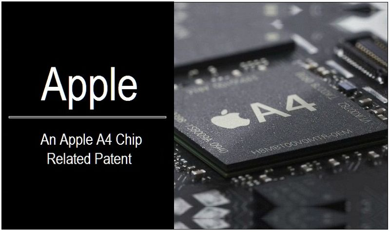 1 - Cover - Apple - an A4 Chip Related Patent - graphic