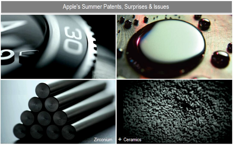 1 - V2 - Cover - apple's summer patents surprises, issues & rumors
