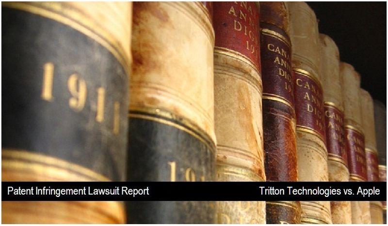 1 - cover - Tritton Technologies vs. Apple