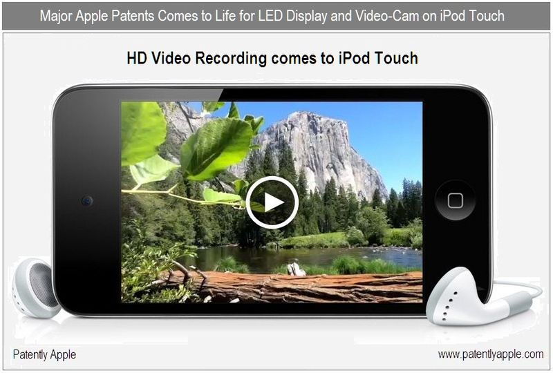 1DD - Cover - Patents fulfilled on iPod Touch - video cam + LED Display