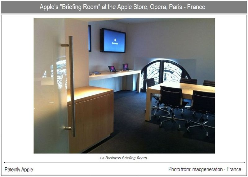 UPDATE PHOTO - THE APPLE BRIEFING ROOM IN PARIS FRANCE FROM MACGENERATION - FRANCE