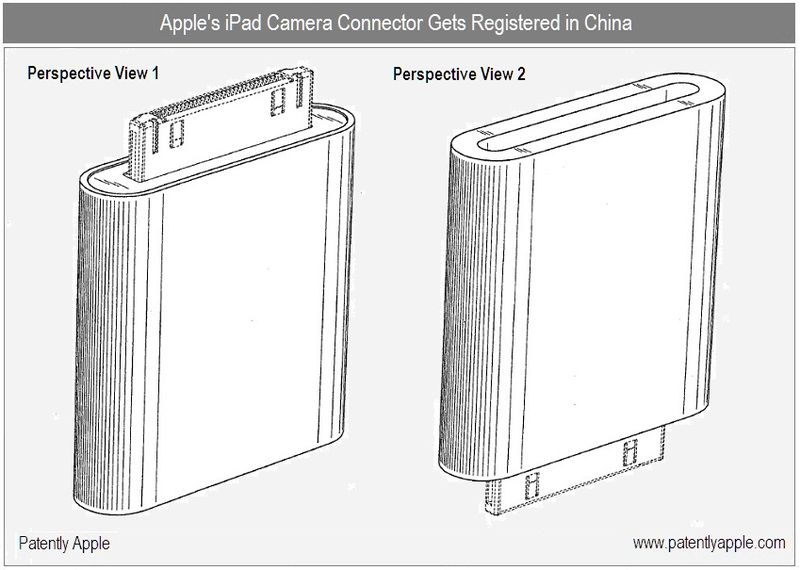 5 - Apple Inc, Camera Connector - Registered Design in China